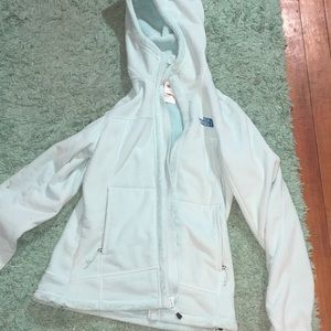 North face light blue jacket size small